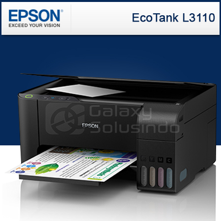 Toko Komputer Online Malang | Jual EPSON EcoTank L3110 All-in-One Ink Tank  Printer murah