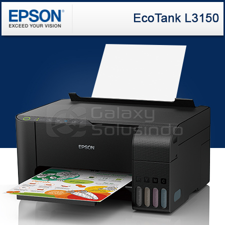 Toko Komputer Online Malang | Jual EPSON EcoTank L3150 All-in-One Ink Tank  Printer murah