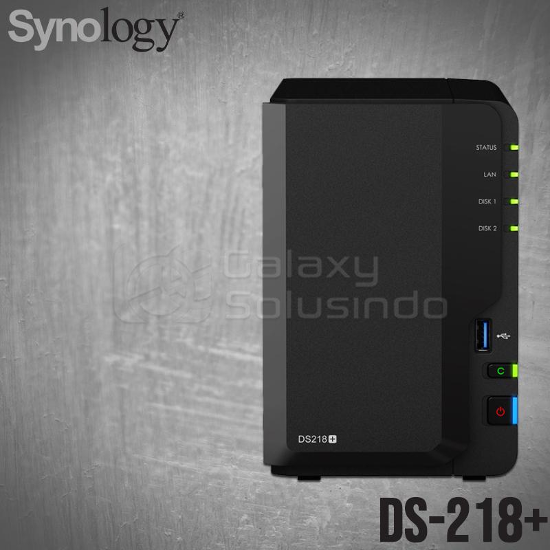Toko Komputer Online Malang   Jual SYNOLOGY DS218+ 2 Bay Diskstation murah