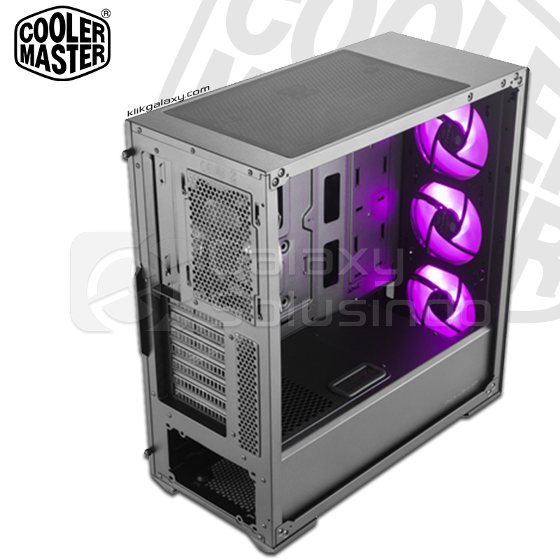 Cooler Master MasterBox MB520 RGB Tempered Glass Gaming Case