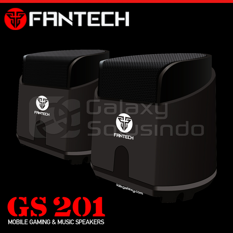 Fantech GS201 HELLSCREAM Mobile Gaming and Music Speakers