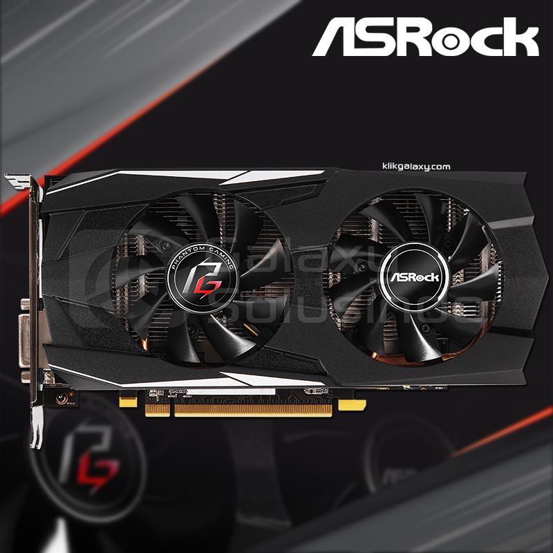 Toko Komputer Online Malang | Jual Asrock Radeon RX 570 PHANTOM