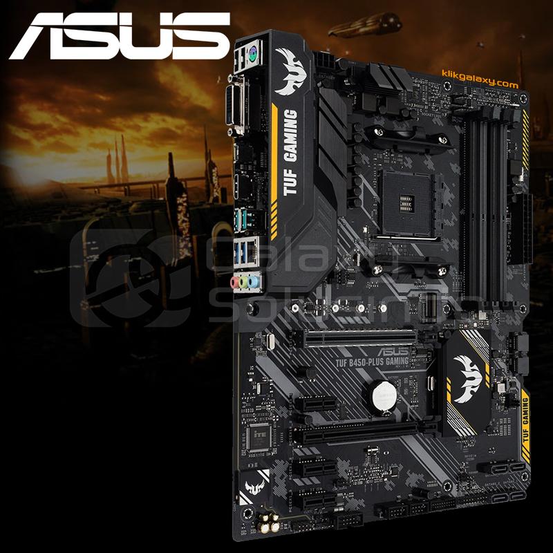 Toko Komputer Online Malang | Jual ASUS TUF B450 PLUS Gaming AM4 murah