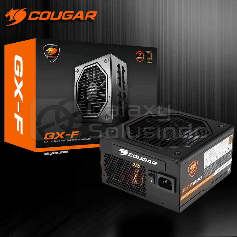 COUGAR GX-F 650W 80+ Gold Certification Full Modular