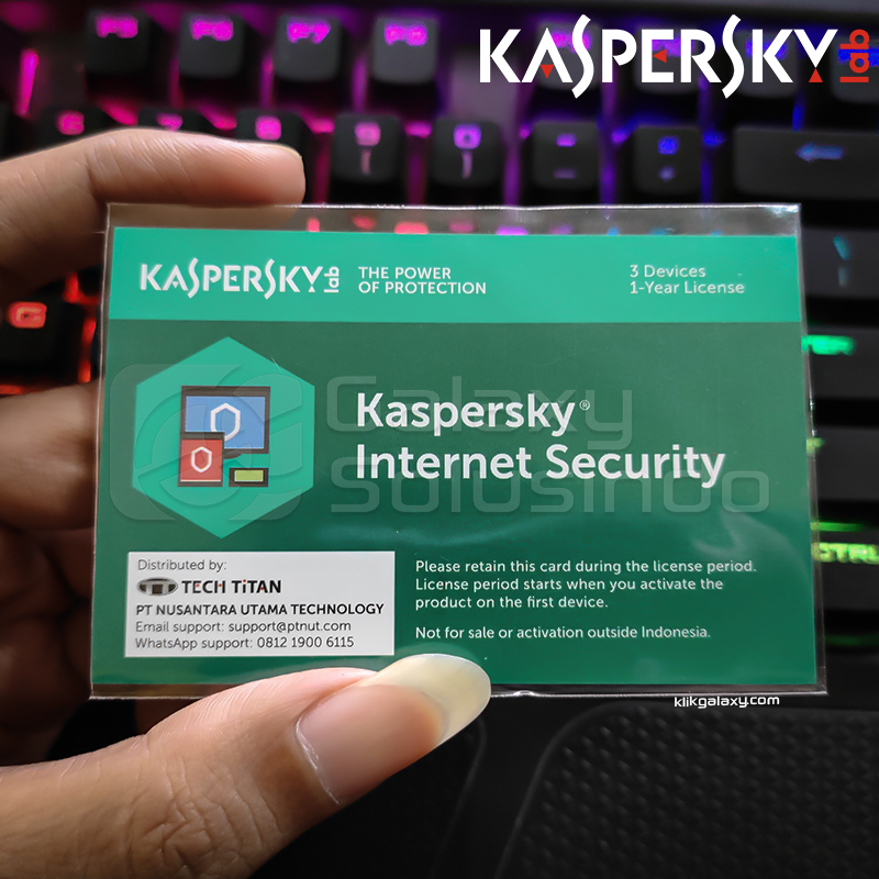 Kaspersky Internet Security - 3 Devices 1 Year