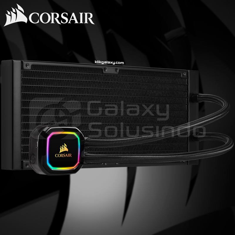 Corsair Hydro Series iCUE H115i RGB PRO XT Liquid CPU Cooler