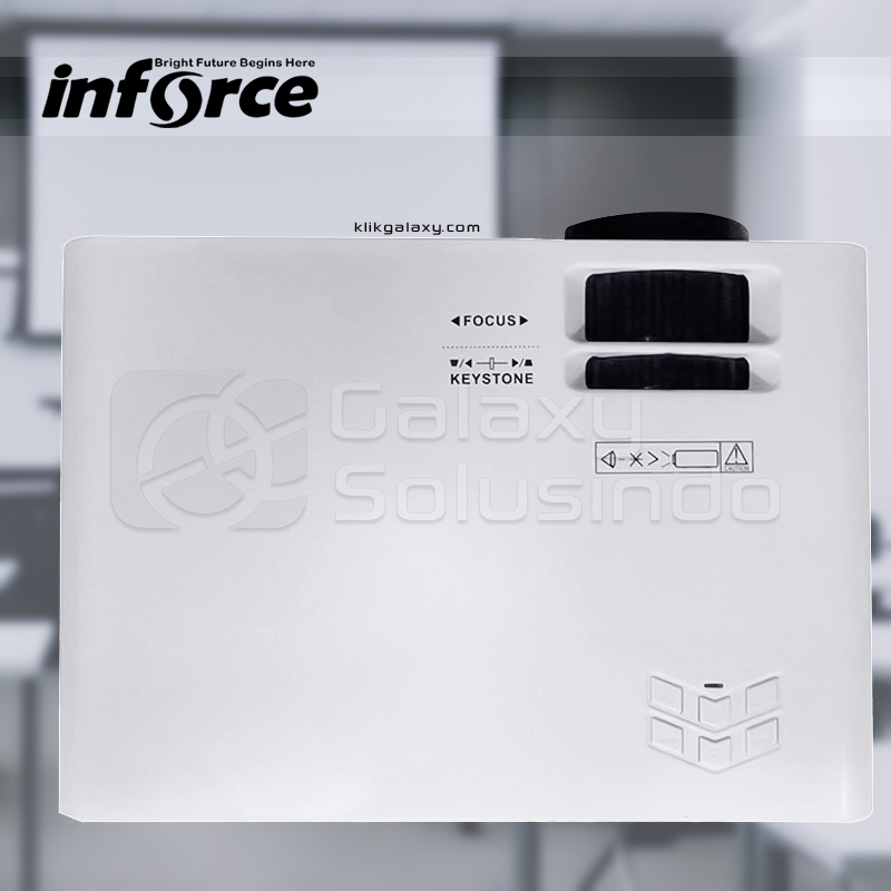 INFORCE AN-10 Mini Projector - White