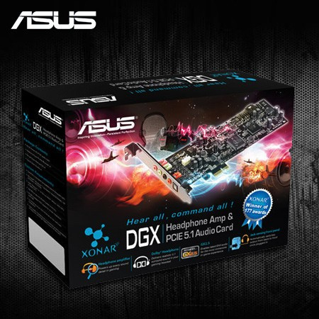 ASUS Xonar DGX audio card