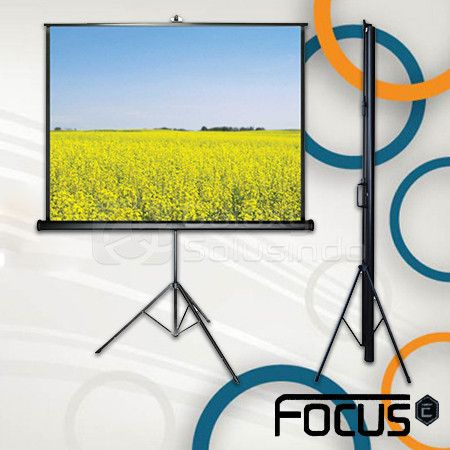 Tripod Screen Focus 84 inch
