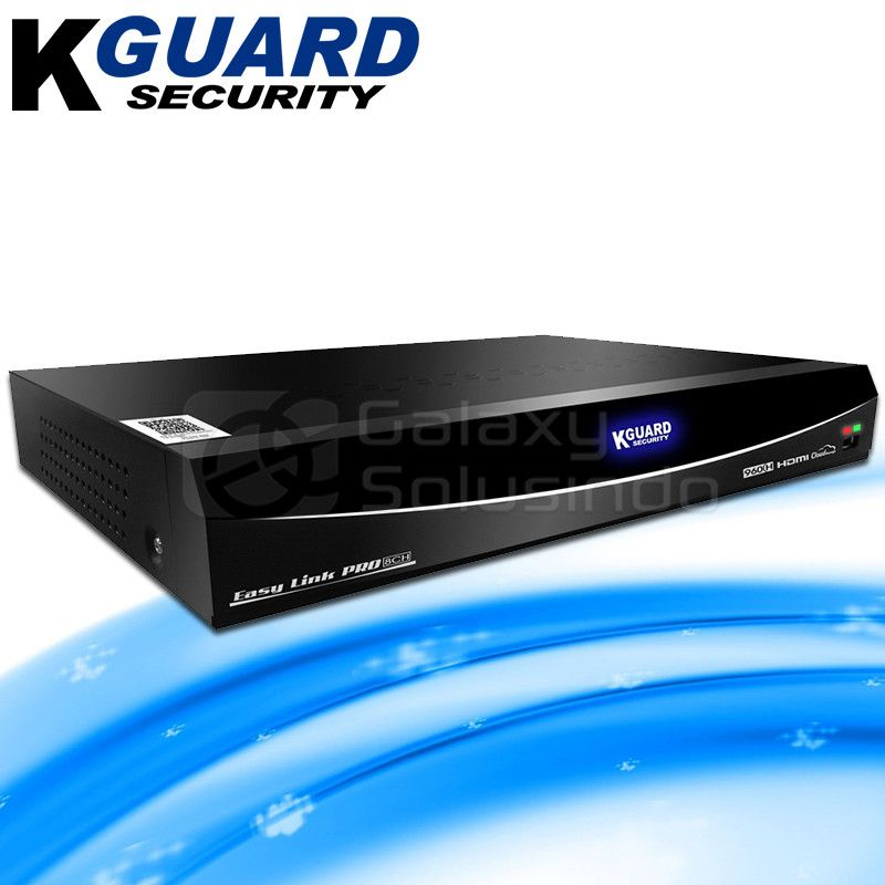 KGUARD Security EL822 8 Channel DVR