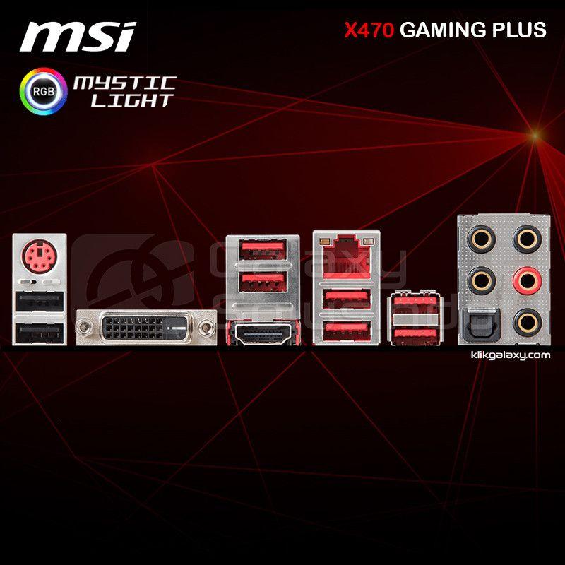 Toko Komputer Online Malang | Jual MSI X470 GAMING PLUS AM4 murah