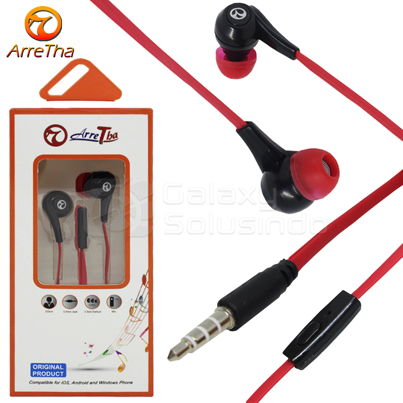 ARRETHA Earphone Red