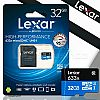LEXAR Micro SD card 32gb class 10 95mb/s + Adapter