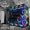 Paradox Trickster 7 Tempered Glass Gaming Case