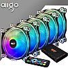 AIGO DARKFLASH CF8 RGB 120mm 5in1 Case Fan