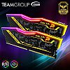 TEAM T-Force Delta TUF Gaming Series RGB (2x8) 16GB DDR4 kit 3200MHz