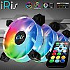 iRis AIR V9 ARGB 3Pack (FULL RING) + CONTROLLER + REMOTE - SYNC Ready