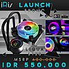 iRis LIQUA S120 ARGB 12cm Sync Ready + Remote - LIQUID CPU COOLER