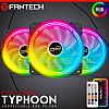 Fantech TYPHOON FB302 Addressable RGB 3in1 Fan Case + Remote